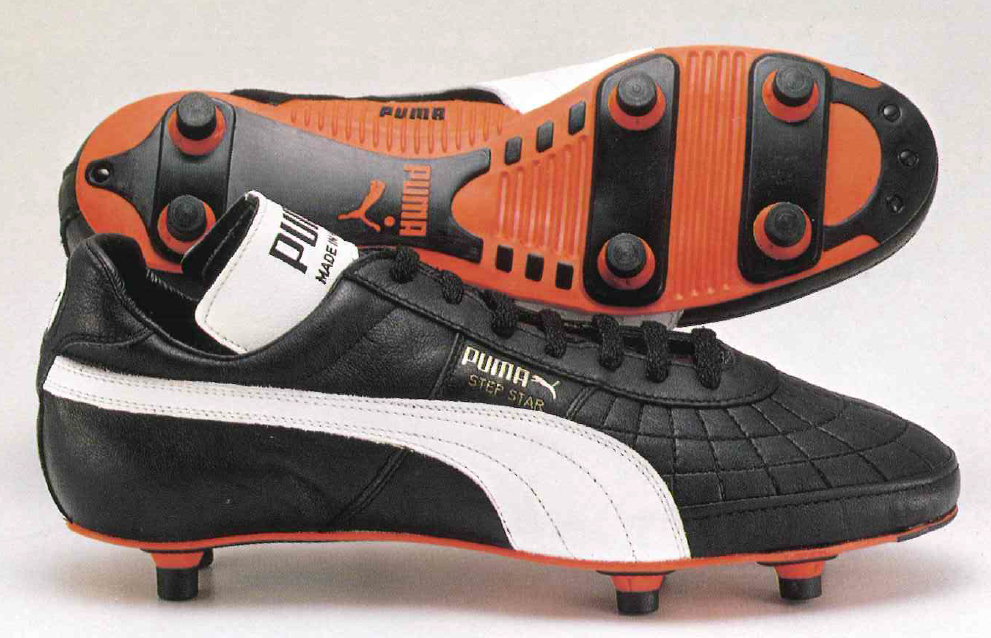 1984 Puma Step Star - the first ever £100 fooball boot.