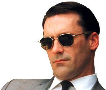 8e8fc40d3e0 These Don Draper sunglasses are fashionable and comfortable