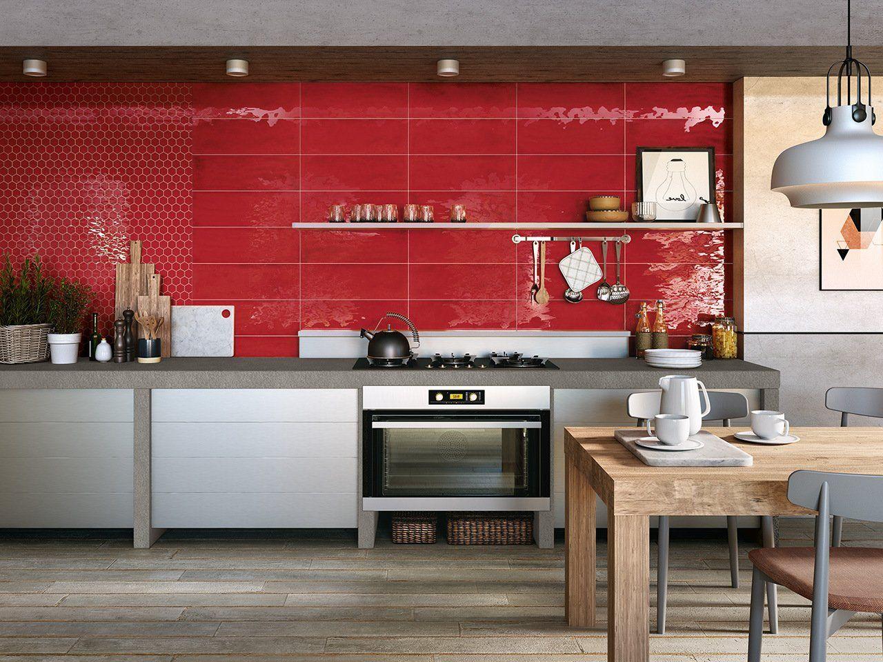 Mosaico intinta rubino lucido 28,8x33,3 | Cucine, Tendenze ...