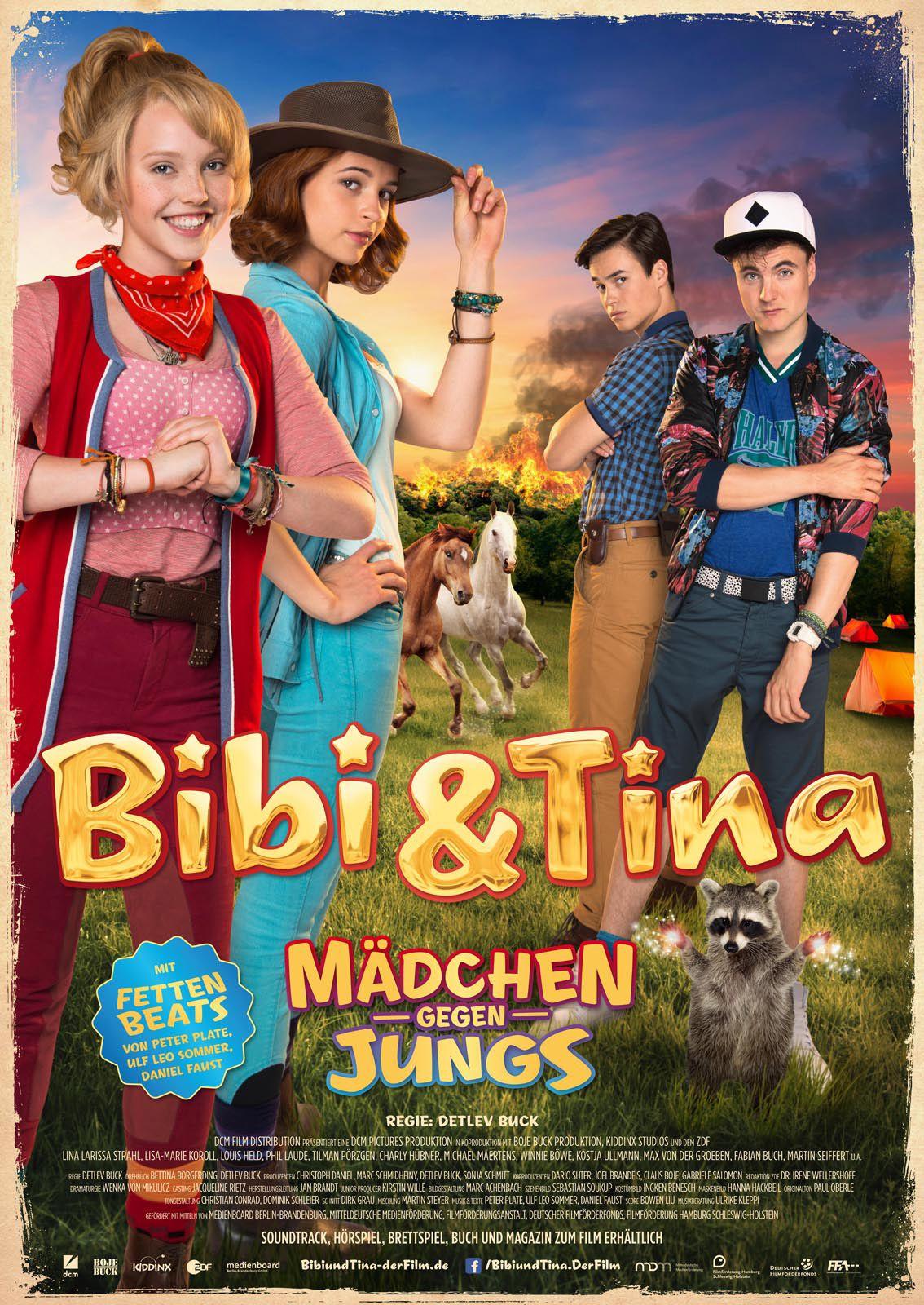 Ausmalbilder Bibi Und Tina Mädchen Gegen Jungs : Bibi Tina 3 M Dchen Gegen Jungs Ein Film Von Detlev Buck Mit
