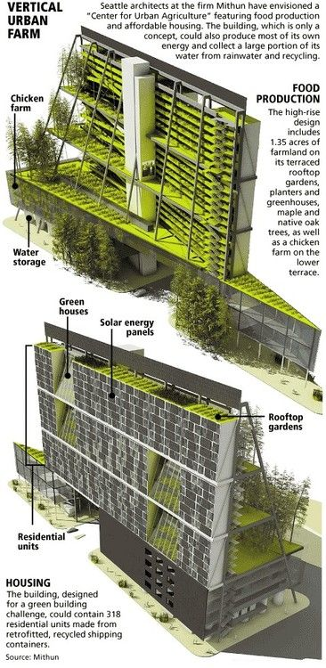 Week 7 Green Sustainable Housing Is Becoming More And More Possible Everyday Can Urban Farms Really Be An A Green Architecture Urban Farming Vertical Farming