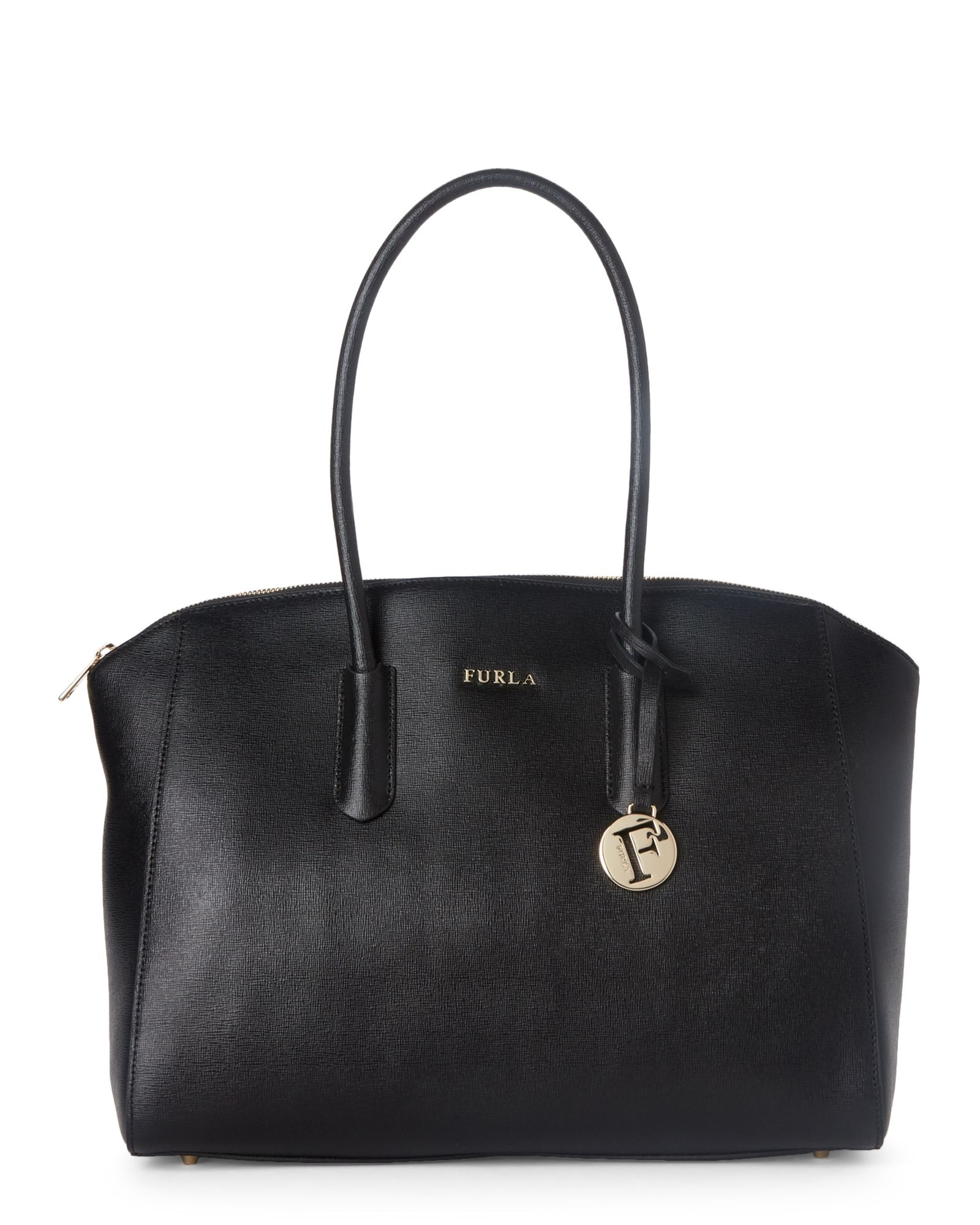09522169a93c Black Tessa Large Leather Tote in 2019