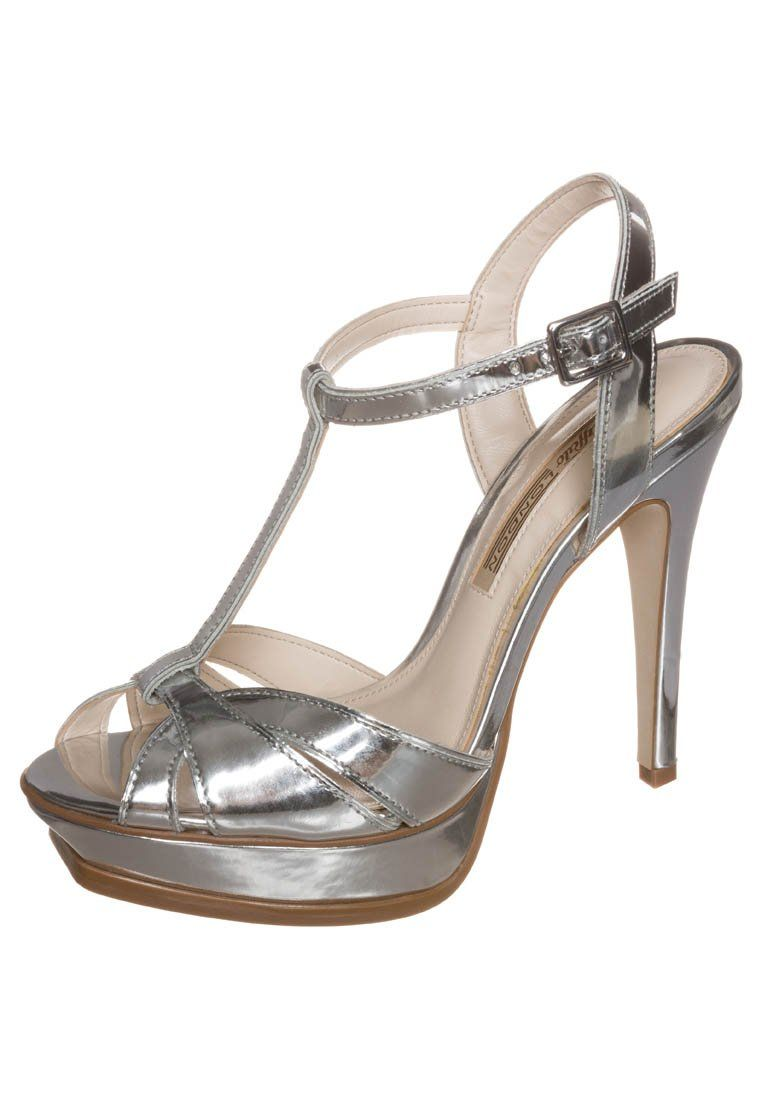 c8be1b3c556cf4 Buffalo - High heeled sandals - silver