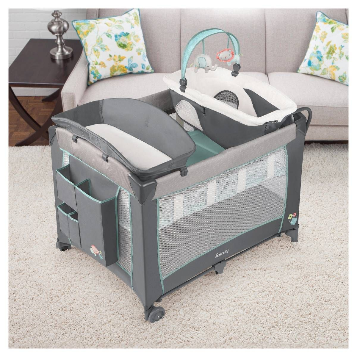 Ingenuity Smart And Simple Playard Candler Image 3 Of