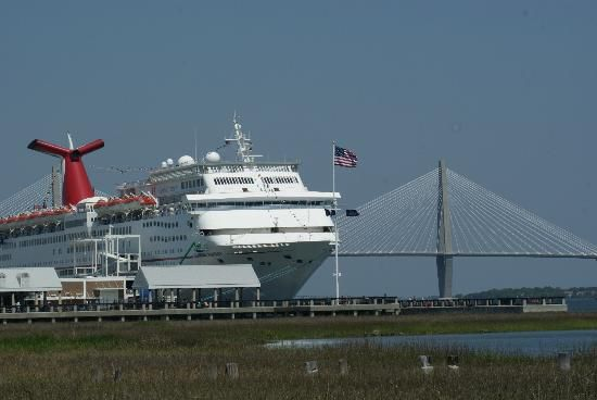 Cruise Ships Now Come Into And Leave From Our Port Doing The - Cruise ships out of charleston