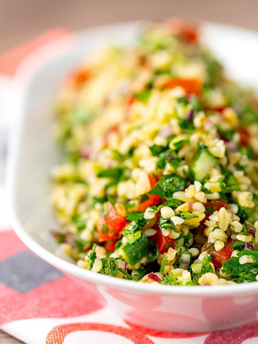 easy tabbouleh salad  recipe  tabbouleh salad salad