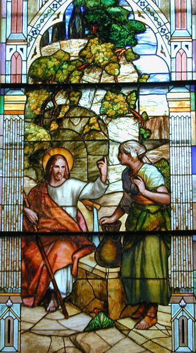 """""""JESUS AND THE WOMAN OF SAMARIA"""""""