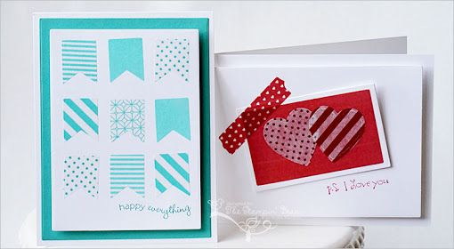 The Stampin' Bean: Shape 'n Tape