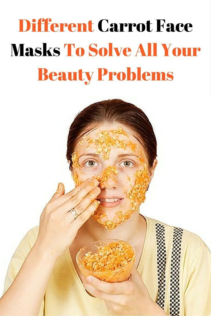 This amazing carrot face mask will solve all your beauty problems! #beauty #style #fashion #hair #ma...
