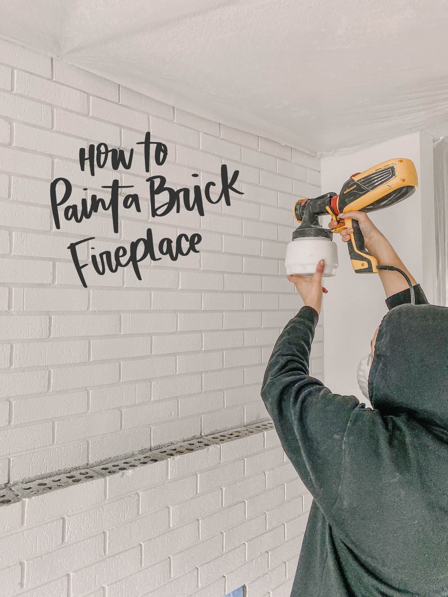 Diy Brick Fireplace Makeover In 2020 Fireplace Makeover Brick