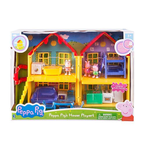Peppa Pig Deluxe House Family Pack ST Jazwares