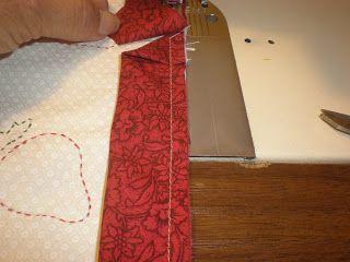 Resultado de imagen de como coser las esquinas de un bies