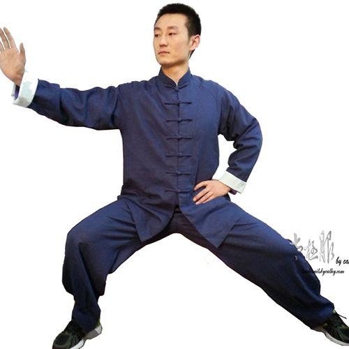 a2f2eccbd Linen Tai Chi Outfit/Kung Fu Uniform in 2019   Stuff   Cotton silk ...