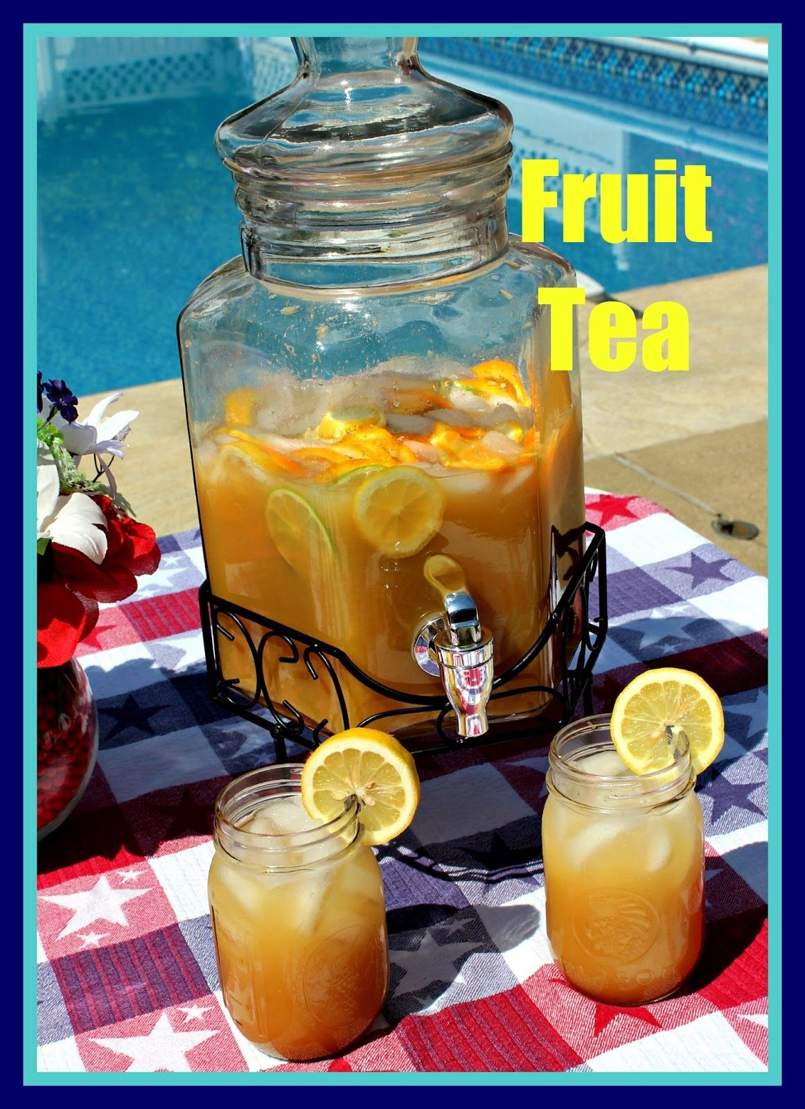 this is the closest recipe to blue coast fruit tea minus the real
