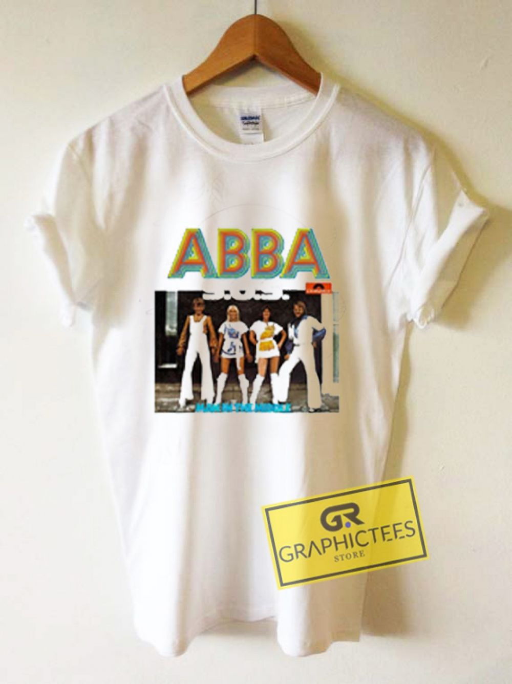 1802c309a ABBA Vintage Graphic Tees Shirts //Price: $13.50 // #mens graphic tees