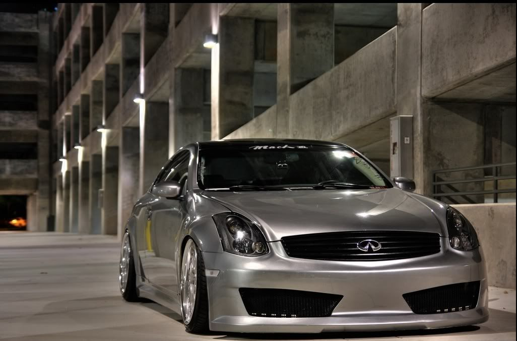 Gray Coupe G35 Smoke Headlights And Blackened Grill With Images