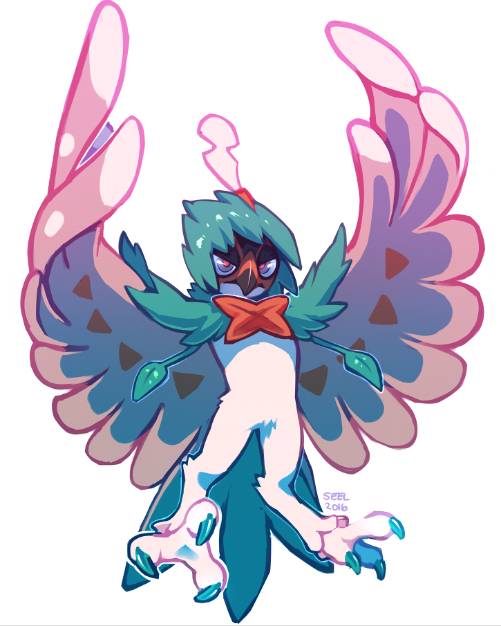 Decidueye by ground-lion on DeviantArt