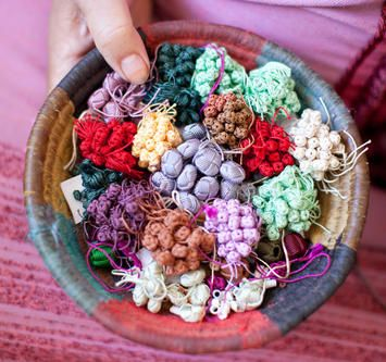 hand made buttons from Istanbul