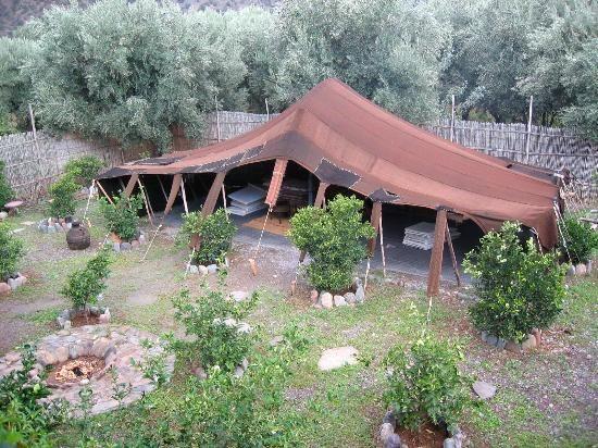 (Backyard-Tent in Garden) Nomadic/Berber/Bedouin Tent & Backyard-Tent in Garden) Nomadic/Berber/Bedouin Tent | New Home ...