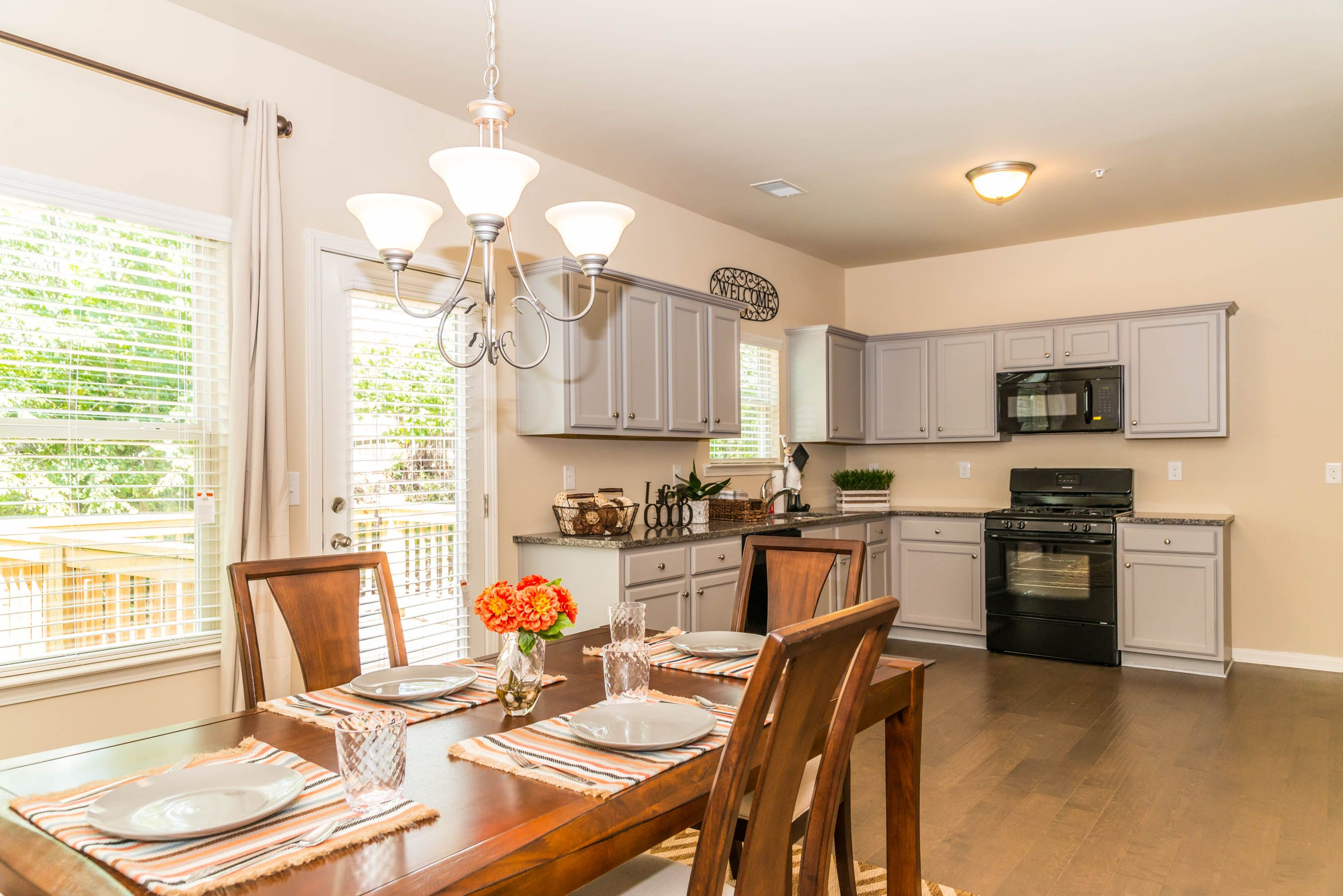 Baltic Plan Dining Area and Kitchen
