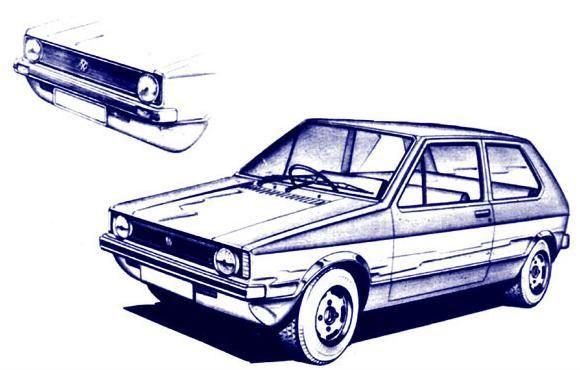 Golf Mk1 par Giugaro