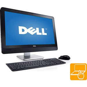 dell black inspiron one 2330 all in one desktop pc with intel core rh pinterest com