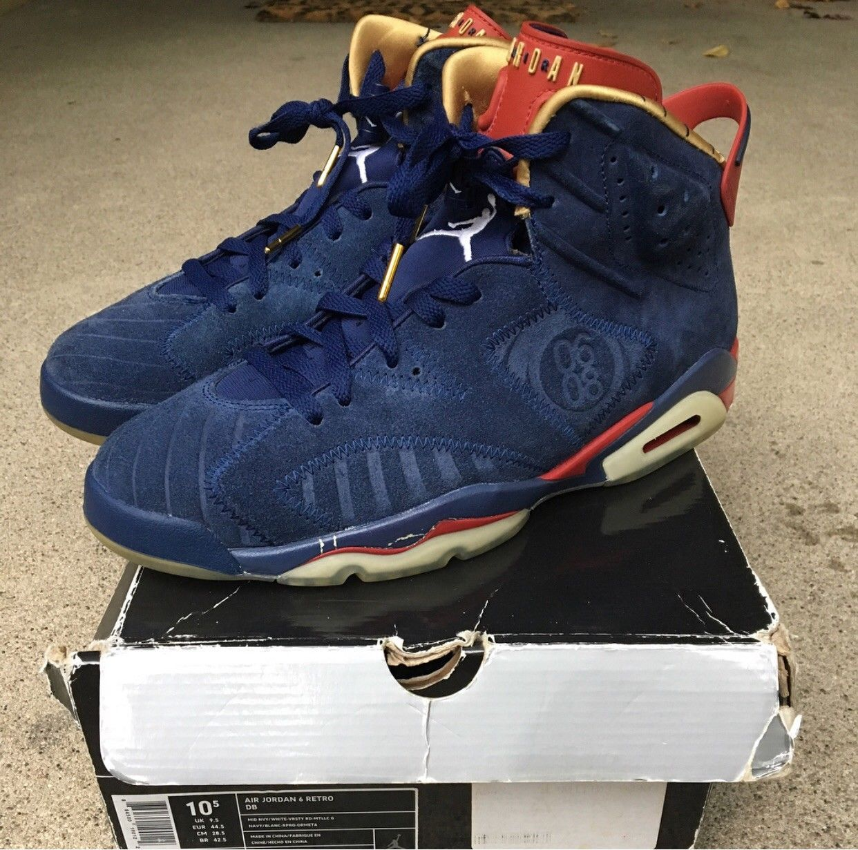 9d4179a55531c5 Air jordan 6 retro doernbecher size 10.5 vi db in 2019