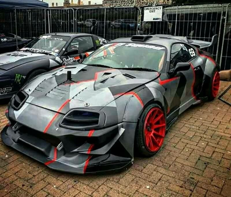 The Craziest Modified Cars: Hands Down Craziest Looking Supra Ive Ever Seen