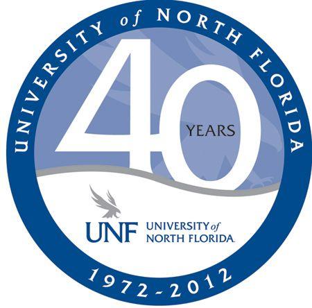 UNF - 40th anniversary logo | Anniversary Logo | Pinterest ...