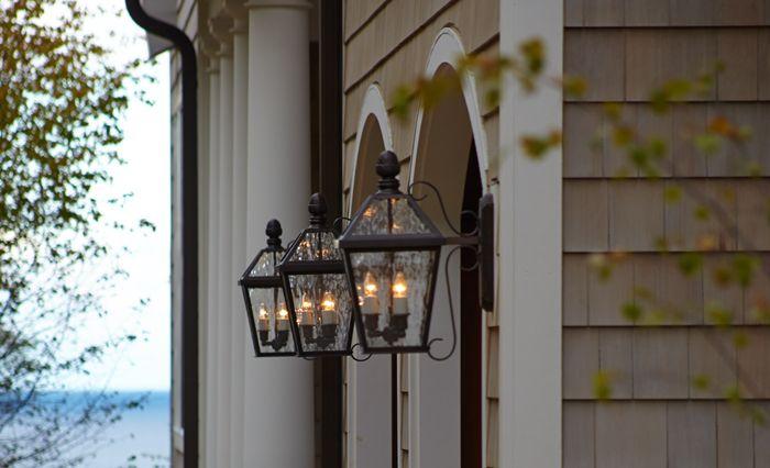 Exterior Lantern Lighting. Breathtaking Lantern Landscape Lighting ...