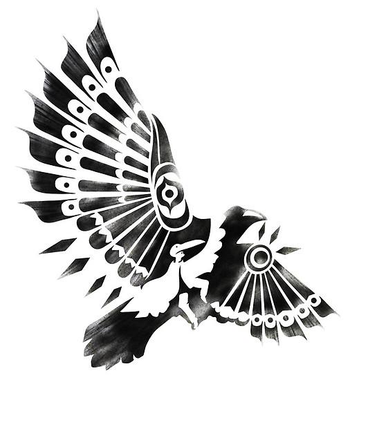 shaman tribal crow tattoo native tatoo native tatoo pinterest rh pinterest com tribal crow tattoo designs tribal crow tattoo meaning