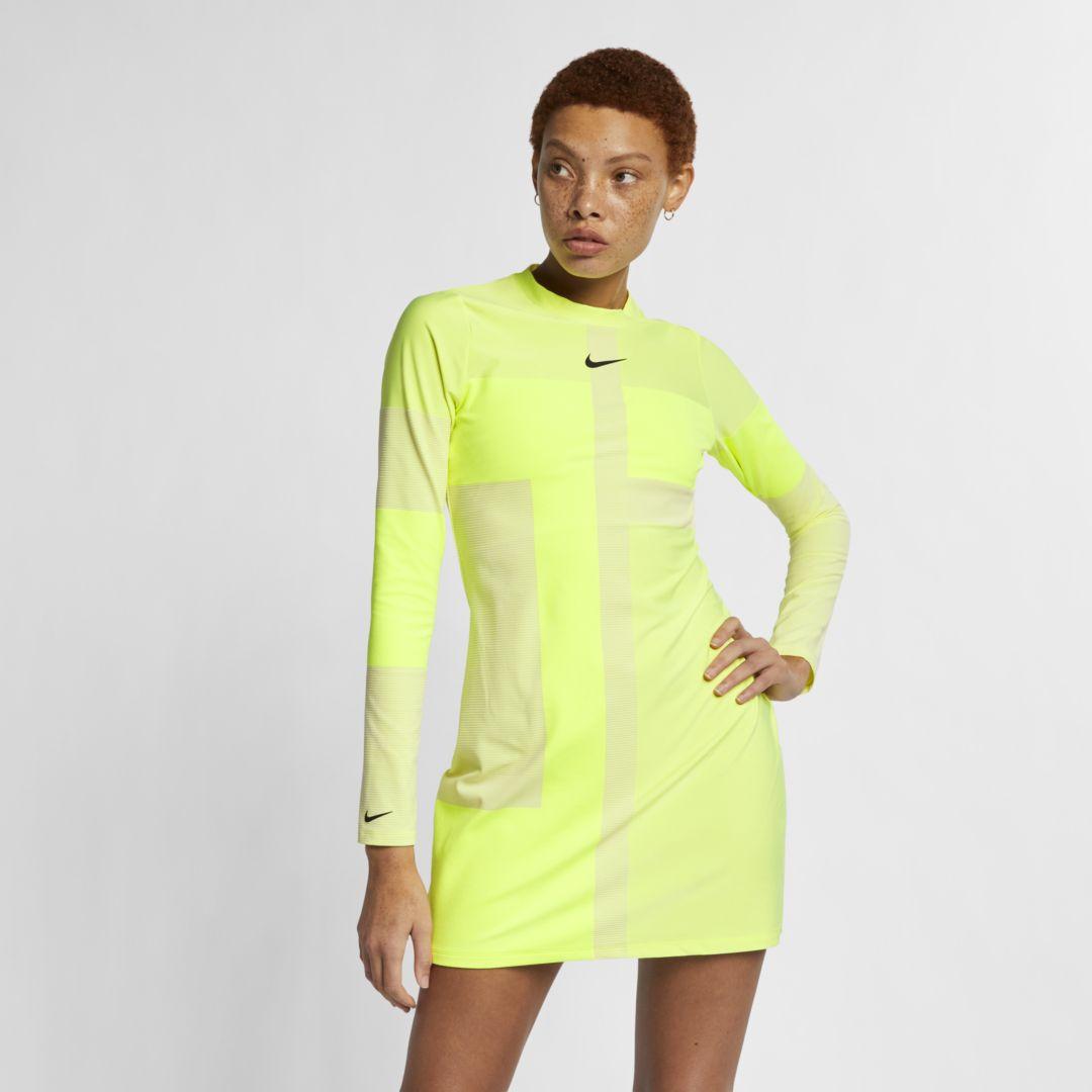 nike long sleeve dress