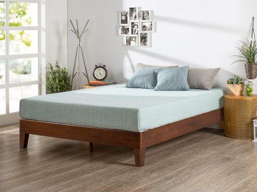 Zinus 12 Inch Deluxe Wood Platform Bed Wood Platform Bed