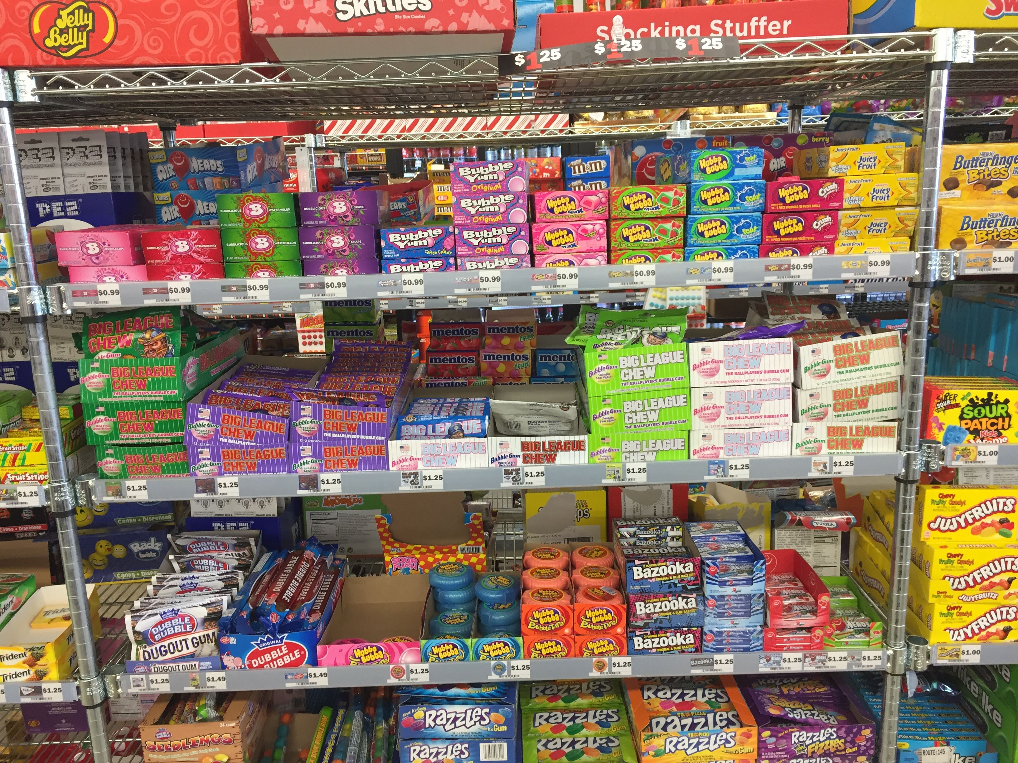 Five below store nostalgia candy retro christmas