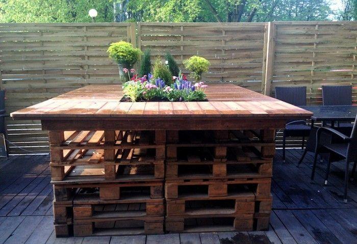 52 idées pour fabriquer votre meuble de jardin en palette