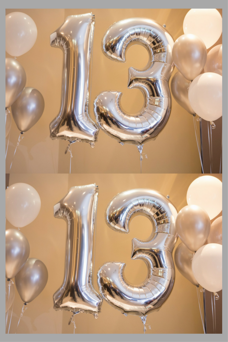 These Silver Mylar 13 Balloons Are A Great Decor Idea For Any Bar Mitzvah Or Bat This One Was In Toronto