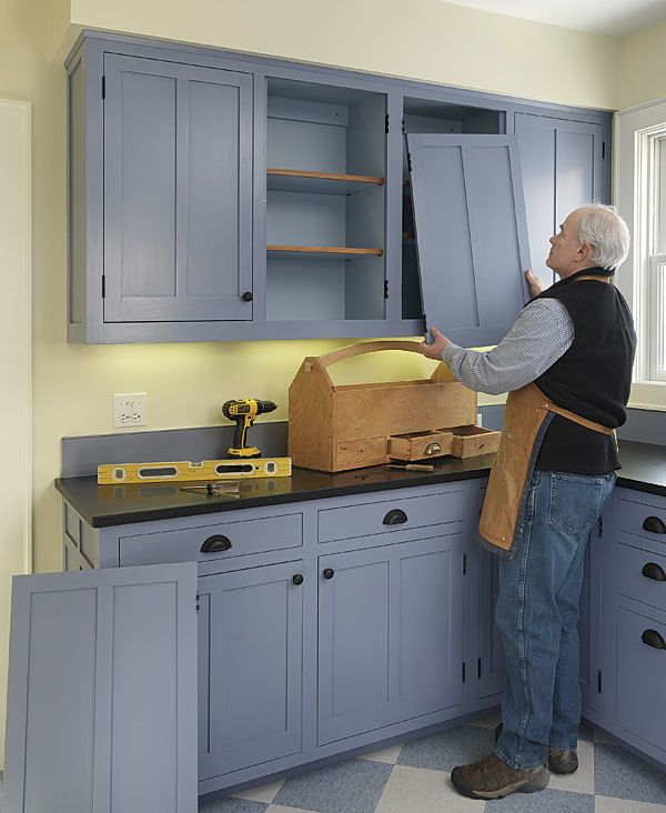 How To Install Inset Cabinet Doors Fine Homebuilding Kitchen