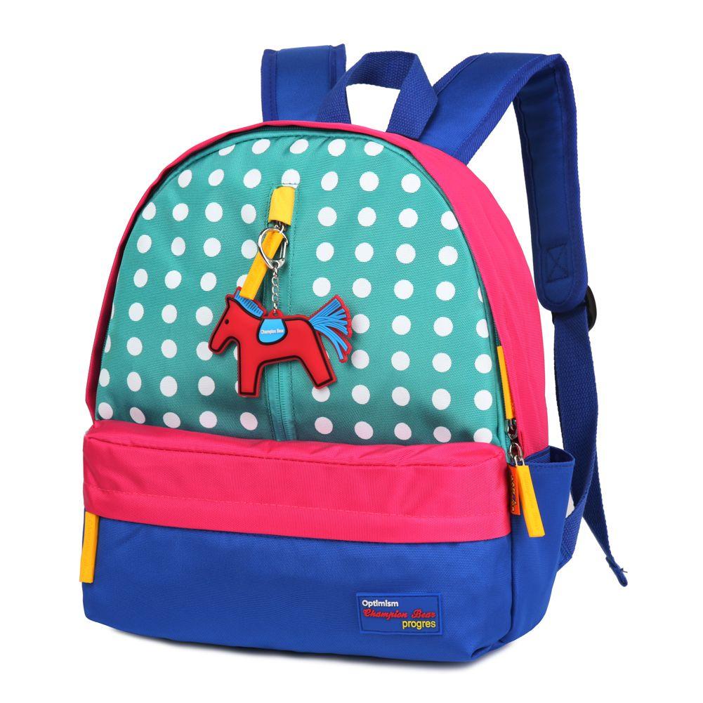 New Cute Kids School Bags Cartoon Fashion Nylon Small Backpack ...