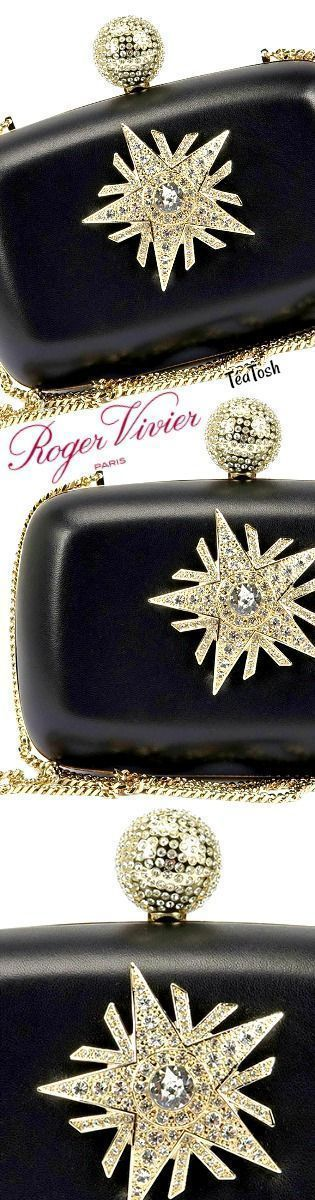 43af6ad9e09 Téa Tosh ROGER VIVIER, Boite De Nuit Star Clutch Bag   Roger Vivier ...