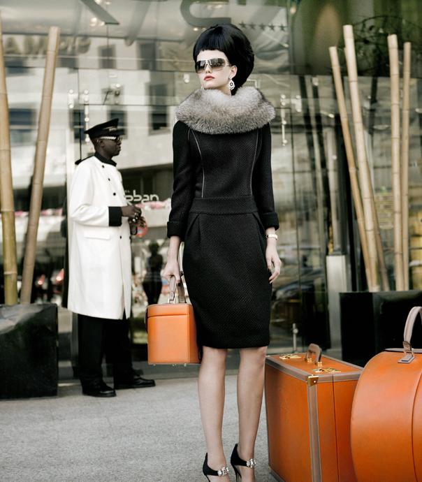 9350bba0924 orange luggage