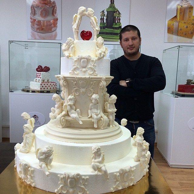 шикарные торты фото свадебные