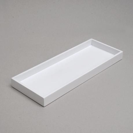 Nom Living   Narrow Lacquer Tray  White. Nom Living   Narrow Lacquer Tray  White   Design   Product