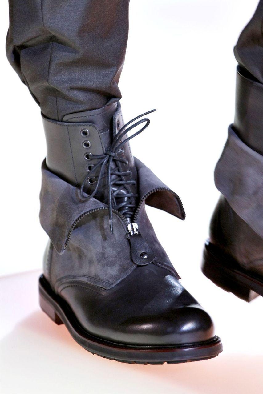 Emporio Armani FW12   Boots men, Boots