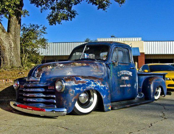 Way Cool Chevy Trucks Trucks Old Pickup Trucks
