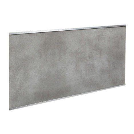 Crédence verre Décor béton H.45 cm x L.80 cm | Maison | Pinterest