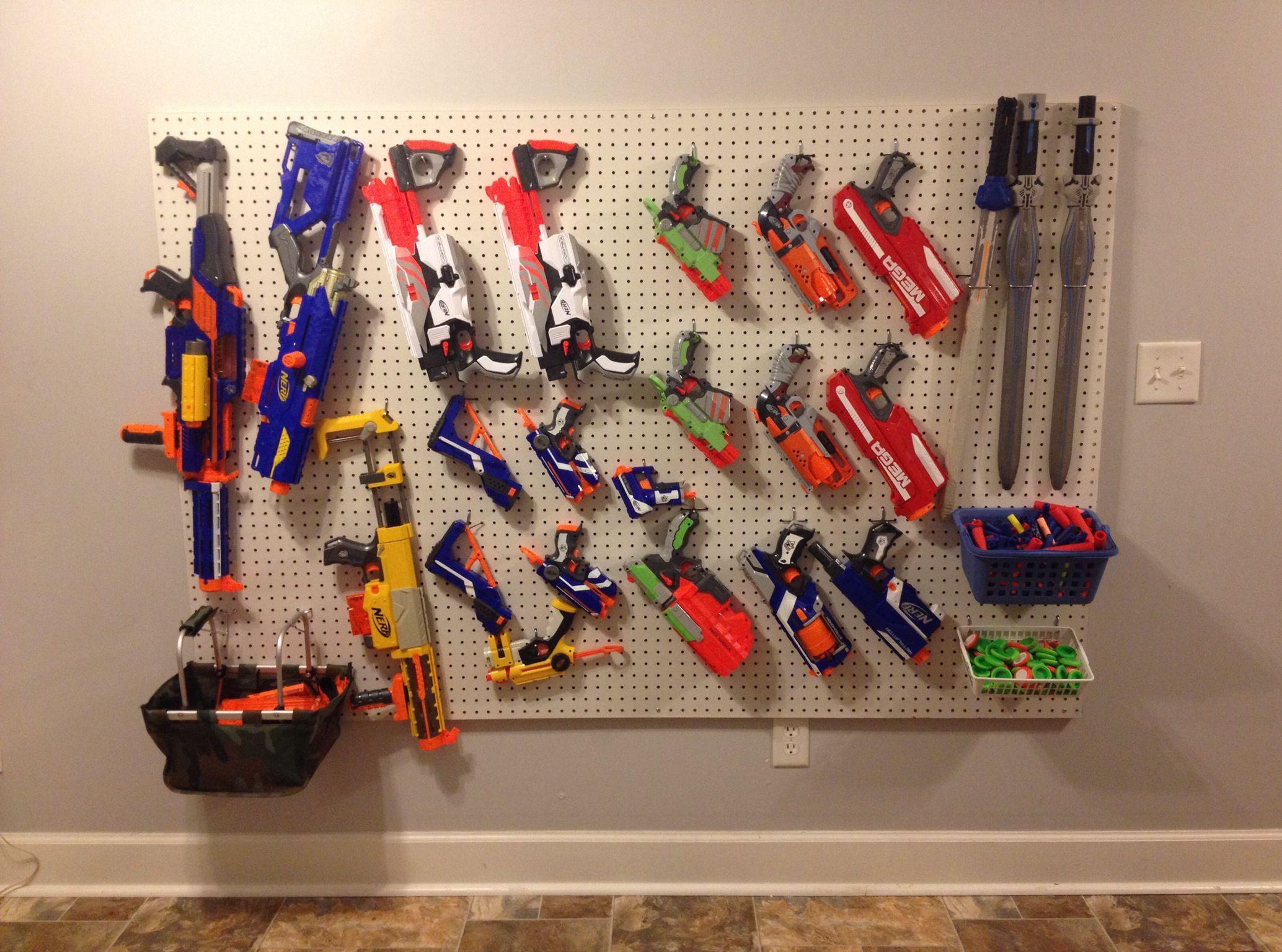 Nerf Gun Storage Marc Camprubí Marchand