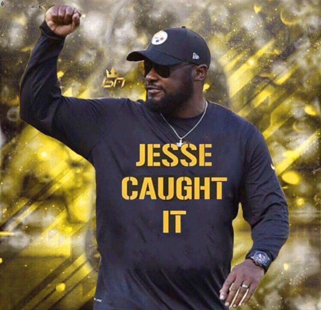 But too late in the game , I'm afraid coach. Still love those Steelers!