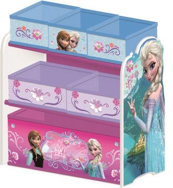 armoire de rangement en bois la reine des neiges l64*l30*h66 cm
