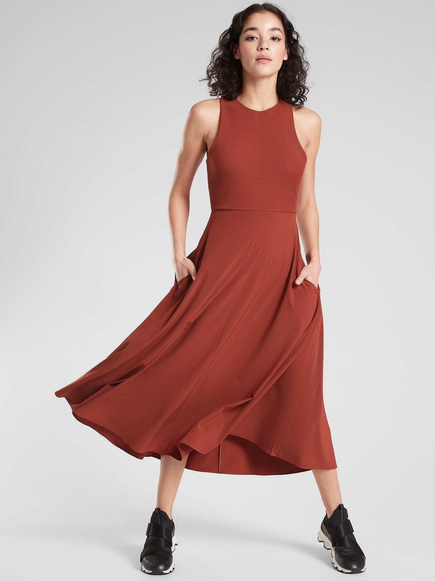 Winona Midi Support Dress | Athleta