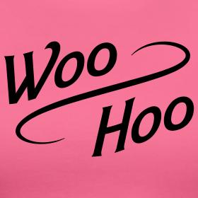 ✔ whoooo hoooo!